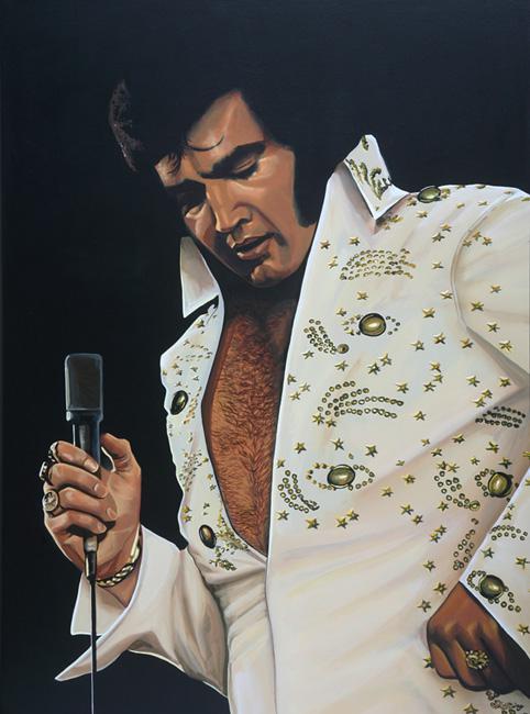 Elvis Presley by PaulMeijering